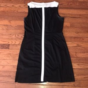 Women's Dri Fit Nike Dress Black White Nice